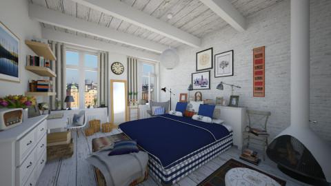 Hastens bedroom - Rustic - Bedroom - by maja97