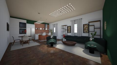 Mid century allure - Vintage - Living room - by rcrites457