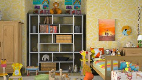 Zoo nursery - Kids room - by lolikawaii
