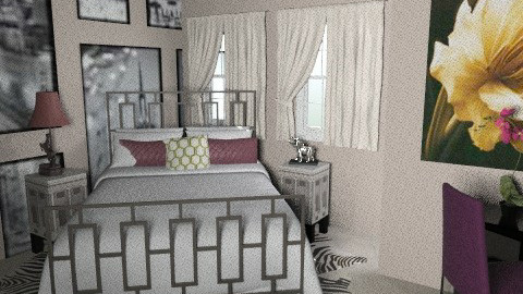 My Room 4 - Bedroom - by emmawatson235