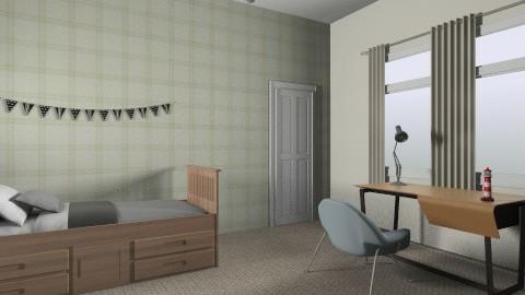 Boys room - Classic - Kids room - by yoban
