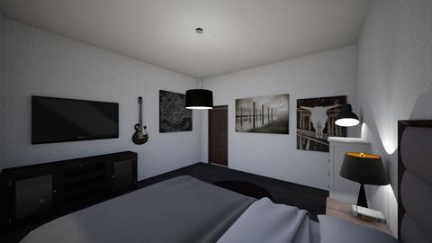 Bedroom - Masculine - Bedroom - by Jejje15