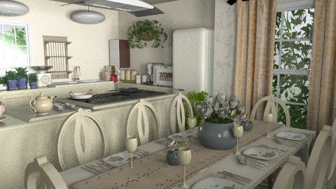 bon appetit - Classic - Kitchen - by Eeesther