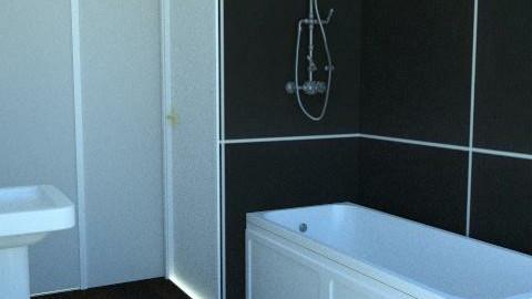 Grey Bathroom - Minimal - Bathroom - by agbr01895