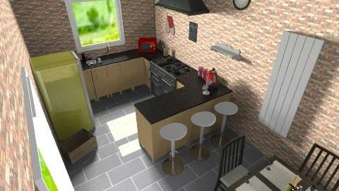 random not finished - Modern - Kitchen - by kayleighsteel