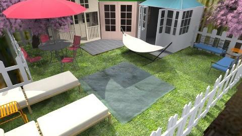 outside - Rustic - Garden - by dancergirl1243