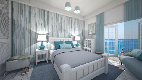 blue  - Bedroom - by rasty