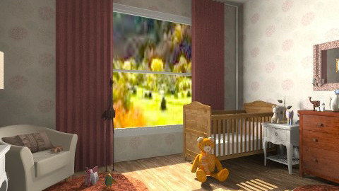 baby room - Vintage - Kids room - by sunlove