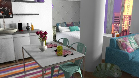 Small Apartment - Eclectic - by allysonrose