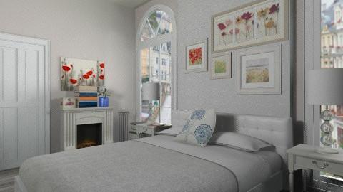 elegant bedroom - Classic - Bedroom - by silvye