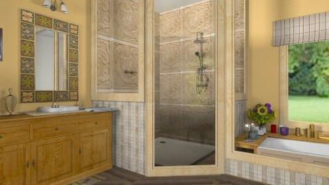 Lara - Rustic - Bathroom - by milyca8