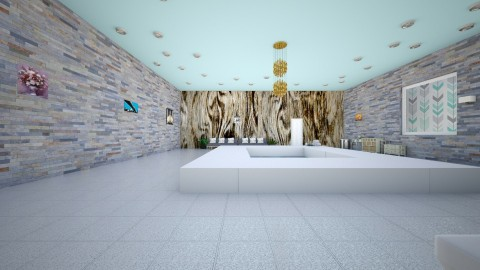 Funky Teenage Bedroom  - Retro - Bathroom - by Taisha Casimir
