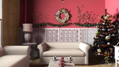 Xmas Living Room - Glamour - Living room - by steven0