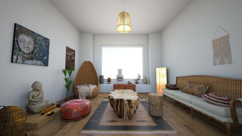 Living bohemio - Rustic - Living room - by GaviotaGavina