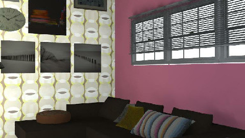 Loft lounge - Living room - by Caroline Lily
