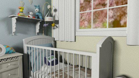 Baby Boy - Kids room - by FranChi