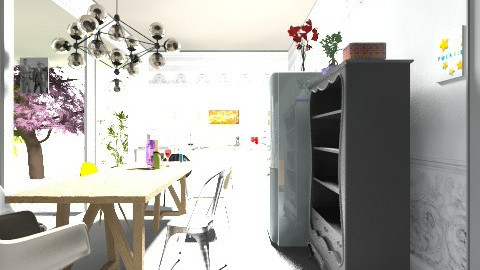 cool house 3 - Vintage - Kitchen - by GINAME