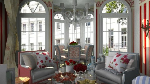 The Rose Room - Classic - Living room - by Trimble Official