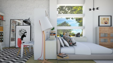 Its like the sun came out - Eclectic - Bedroom - by Lucii