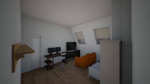 muj pokoj - Bedroom - by stepanchalcar