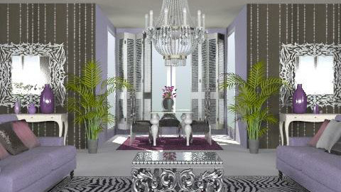 plan 3 - Glamour - Living room - by marti29