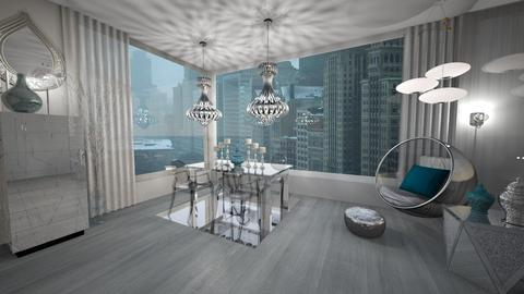Chicago Mirage  - Living room - by PandaGraciosa
