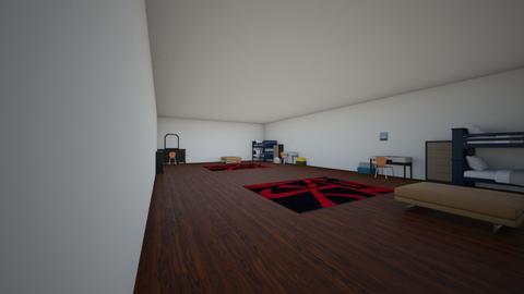 sis and bro bedroom - by tlegr6