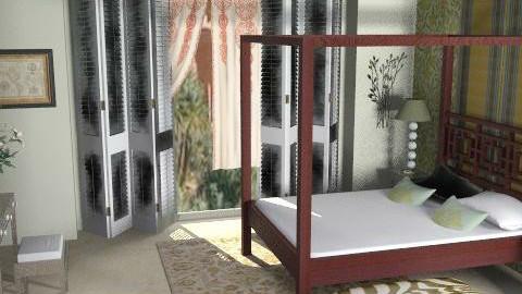 Contemporary Moroccan - Bedroom - by FranklyDear