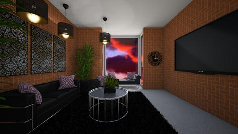 Living Room - by Cool Coder Girl