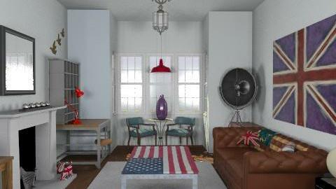 Jambo'sLivingRoom4 - Vintage - Living room - by camilla_saurus