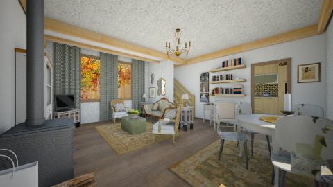 Autumn cottage - Country - Living room - by mrschicken