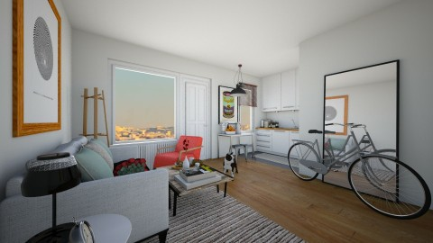 cozy living - Living room - by babybluejane