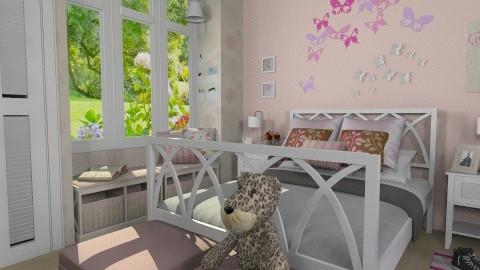 girl bedroom - Bedroom - by maria1950