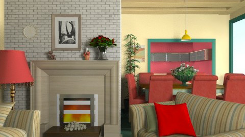 Appartamento del 1950 - Vintage - Living room - by Luisy