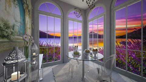 glass - Dining room - by daydreamer84