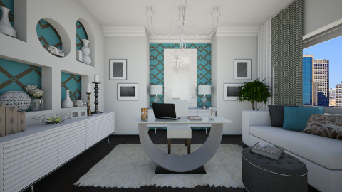 Her Space - Modern - Office - by channing4