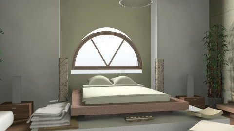Zen - Minimal - Bedroom - by idna