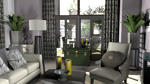 A Touch of Glamour - Glamour - Living room - by laurawoodley