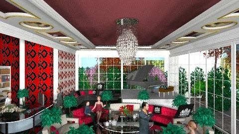 hotel lobby chic 12 - by livia87