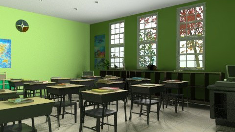 Classroom - Eclectic - Kids room - by muffinswithfrosting