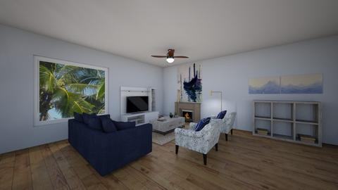 beach cottage  - Living room - by lyrissa02