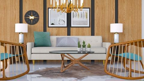 1960s - Vintage - Living room - by HenkRetro1960