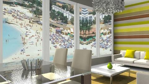 Nissi beach villa - Modern - Living room - by lottie21