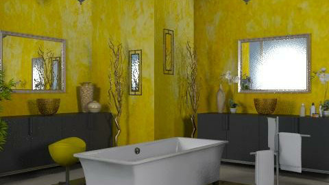 His and Hers - Eclectic - Bathroom - by channing4