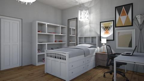 My dream bedroom - Modern - Bedroom - by XxlovedecorationxX