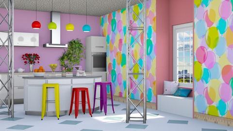 Playful Modern - Kitchen - by RaeCam