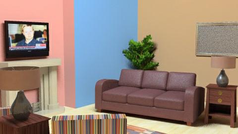 Kewl Living Room - Living room - by kittycatluver13