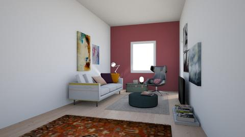 Jussin OH - Living room - by Essi_eames