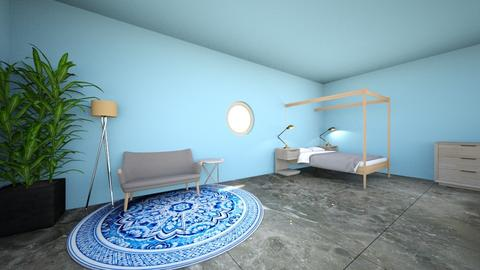 pool party - Minimal - Bedroom - by med095