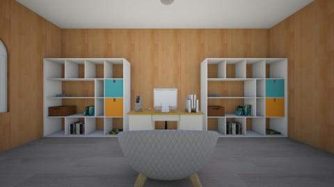 Ofiice - Office - by Laura Marija Skinderska